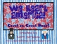 We Heart America! Count on, Count back Math Center