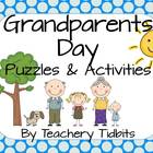 We Heart Grandparents! Puzzles and Activities