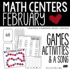 We Heart Math Centers - 10 Common Core Aligned Centers