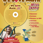 "We Love Math Digital Download / ""Miss Jenny's Edutunes"""