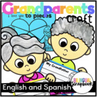 We Love Our Grandparents {A Craftivity in English and Spanish}