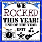 We Rocked This Year - End of the Year Unit!