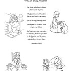 We can Pray Anytime Lesson/Coloring Page VBS/Sun School