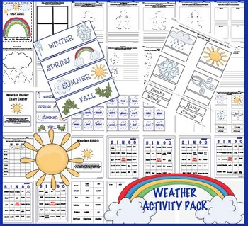 Weather Activity Pack