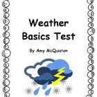 Weather Basics Test