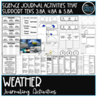 Science Notebook: Weather Journaling and Activity Pages
