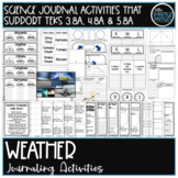 Interactive Notebook: Weather! Journaling and Activity Pages