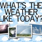 Weather Language Arts and Science Unit, Kindergarten & Fir