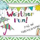Weather Math and Literacy Stations