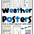 Weather Posters (Includes 24 Different Ready-To-Print Weat