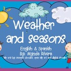 Weather & Seasons- English & Spanish