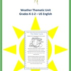 Weather Thematic Unit (Primary) Grades 1-2 For Very Busy Teachers