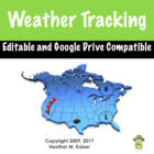 Weather Tracking in Excel