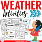 Weather Unit Activities for Young Learners PreK K 1st Grade