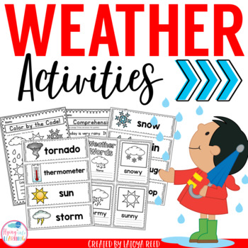 Weather Activities for Young Learners PreK K 1st Grade