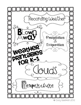 Weather Unit Printables