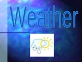 Weather Powerpoint  Vocabulary for Beginner ESL/ELL/ESOL o