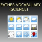 Weather Vocabulary Powerpt (20 slides)