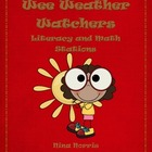 Weather Watchers - Math and Literacy Stations