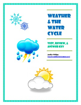 Weather/Water Cycle Test