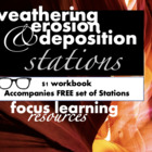 Weathering, Erosion, and Deposition Stations Student Workbook