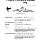 Weathering Man &amp; Erosion Boy - Reader&#039;s Theater for Small Groups