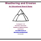 Weathering and Erosion Board Game