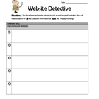 Website Detective