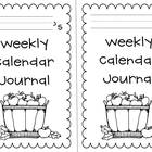 Weekly Calendar Journal - free!