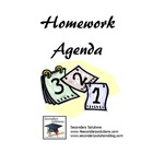 Weekly Classwork/Homework Agenda