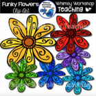 Weekly Freebie - Spring Flowers Clip Art!