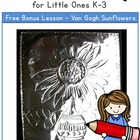 Weekly Freebie - Van Gogh For Little Ones K-3