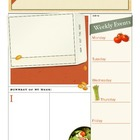 Weekly Journal Template