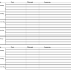Weekly Lesson Plan Organizer