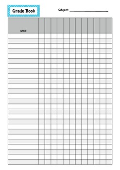 Weekly Planner for Organised Teachers