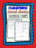 Weekly Social Studies Historical Figures Review