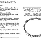 Weekly Weather Journal