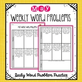 Weekly Word Problems May