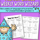 Weekly Word Wizard Set Three