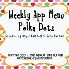 Weekly iPad & iPod App Menu: Polka Dot