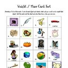 Weight / Mass Card Sort Activity - standard &amp; metric
