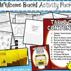 Welcome Back! Activity Pack for 1st Grade