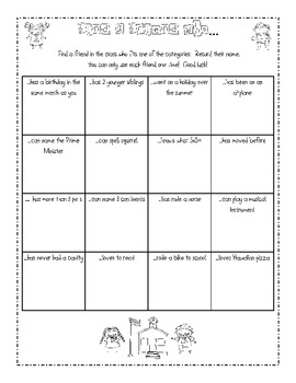 Welcome Back To School Printable Activity Pack