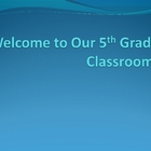 Welcome Back to School Open House PowerPoint Project