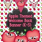 Welcome Banner for Back to School Freebie