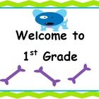 Welcome to 2nd Grade Sign