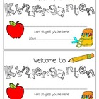 Welcome to Kindergarten Certificate