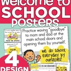 Welcome to School Posters