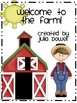 Welcome to the Farm! Activities to Supplement Your Farm Unit