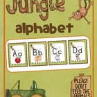 Welcome to the Jungle {Classroom Alphabet}